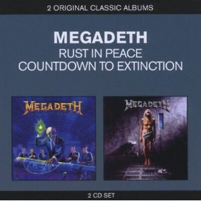 Megadeth   Classic Albums  Countdown To Extinction Rust In Pe  New Cd  Uk   Impo