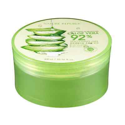 [NATURE REPUBLIC] Aloe Vera 92% Soothing Gel 300ml / Korea Cosmetic