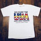Military/Landgirl Graphic Tee 100% Cotton Vintage T-Shirts for Men