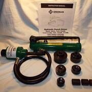 Greenlee Hydraulic