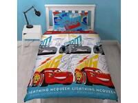 Cars 3 Lightening Reversible Duvet & Cars Cushion