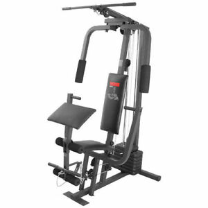 Weight machine,bench press, treadmill and rowing machine
