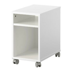 Oltedal Ikea End Table/Nightstand with Castors