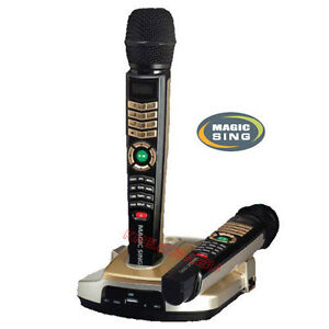 MAGIC SING ET23K - 2 WIRELESS MICS 2000+ ENGLISH SONGS / DOWNLOAD OPTION & HDMI