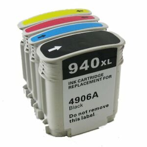 H P 940XL High Yield Compatible New Inkjet Cartridge -Each Color
