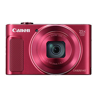 Canon Powershot Sx620 Hs 20 2Mp Digital Camera 25X Optical Zoom Wifi   Nfc Red