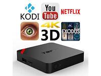 Mini Android TV Box Kodi 16.1 loaded Showbox Mobdro Playstore YouTube etc