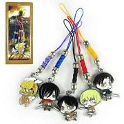 Anime Cell Phone Charm