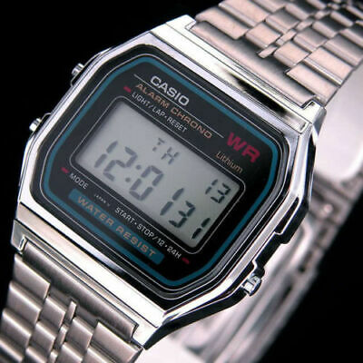 Casio Digital Retro Watch Made In Japan A159WA-N1DF Special Offer UK Seller