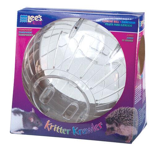 RA Kritter Krawler Exercise Ball - Transparent - Jumbo