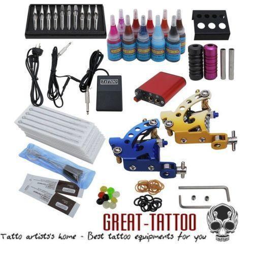 Complete tattoo starter kit ebay for Starter tattoo kits