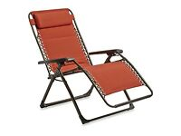 Zero Gravity reclining chair/lounger - as new - £45