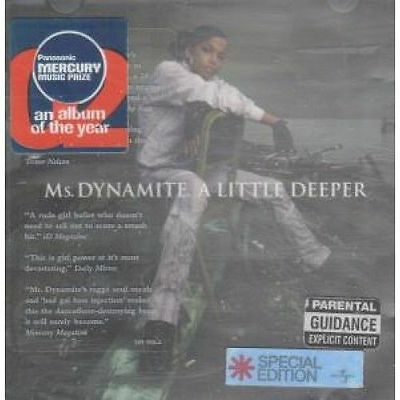Ms. Dynamite - A Little Deeper  (Explicit Version) CD (2002) - Special Edition
