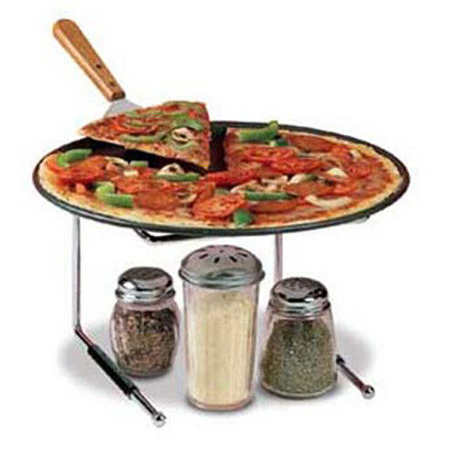 Pizza Tray Stand, Chrome Finish