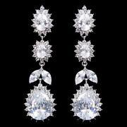 Bridal Teardrop Earrings