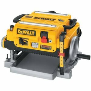 """Dewalt 15A 3-Knife 13"""" Two Speed Thickness Planer (DW 735)"""