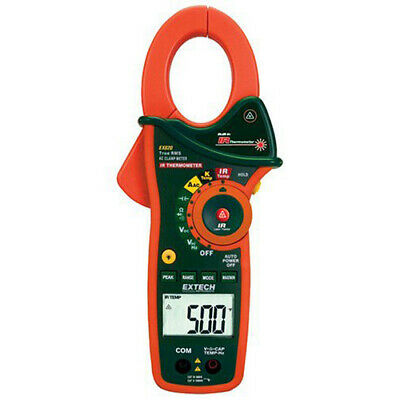 Extech Ex820 1000a True Rms Ac Clamp Meter With Built-in Ir Thermometer