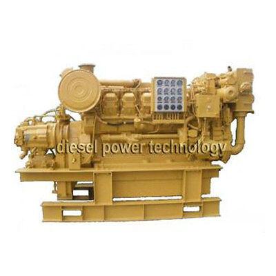 Caterpillar 3512 Remanufactured Diesel Engine Extended Long Block