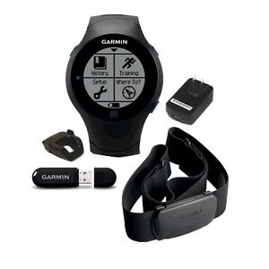 GARMIN FORERUNNER 610 GPS FITNESS SPORTS WATCH W/ HRM (010-00947-10)