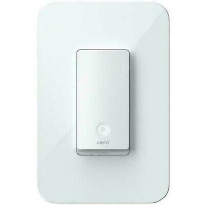Belkin WeMo WiFi Smart Light Switch (1-Switch)-CONTROL YOUR LIGHTS FROM ANYWHERE