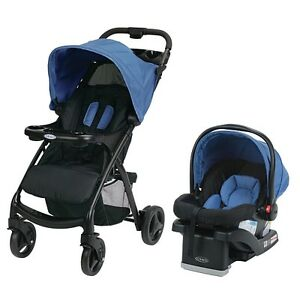 Graco Verb Click Connect Travel System - Blue color - BRAND NEW