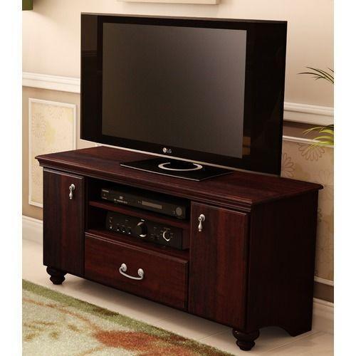 mahogany tv stand ebay. Black Bedroom Furniture Sets. Home Design Ideas