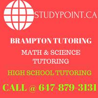 HIGH SCHOOL MATH & SCIENCE TUTOR AVAILABLE IN BRAMPTON