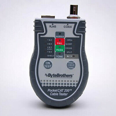 Triplettbytebrothers Ctx200 Pocket Cat Network Cable Tester No Probe