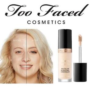 NEW TOO FACED MULTI-USE CONCEALER 1598 217994386 BORN THIS WAY SUPER COVERAGE MULTI-USE SCULPTING MAKEUP BEAUTY COSME...