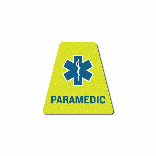 3M Reflective Fire Helmet Single Tetrahedrons - Paramedic - Yellow Tet