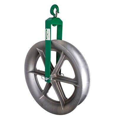 Greenlee 653 24 Hook-type Sheave For Easy Tugger And Tugger