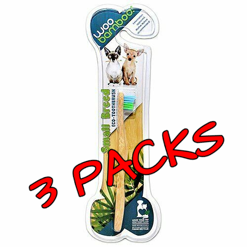 WooBamboo - Toothbrush For Cats and Dogs Small Breed - 1 Pie