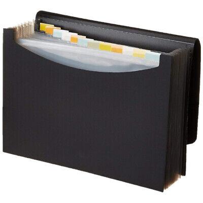 Document File Folder Storage Bag Waterproof Expanding Pockets Letter Organizer