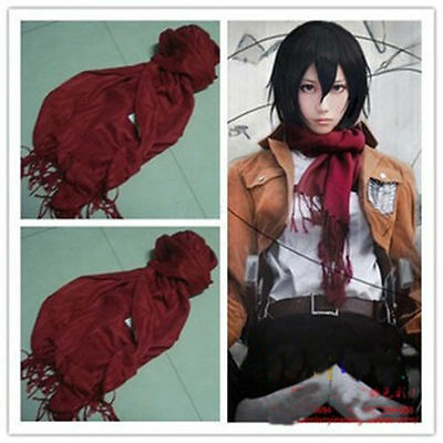 Attack on titan Shingeki no Kyojin Cosplay Mikasa Ackerman Red Scarf Costume](Attack On Titan Mikasa Costume)