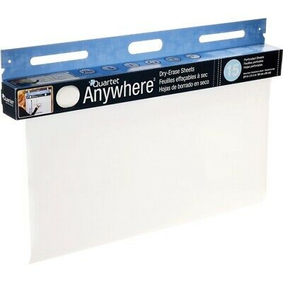 Quartetreg Anywheretrade Dry-erase Sheets 15 Sheet Roll - 480 40 Ft