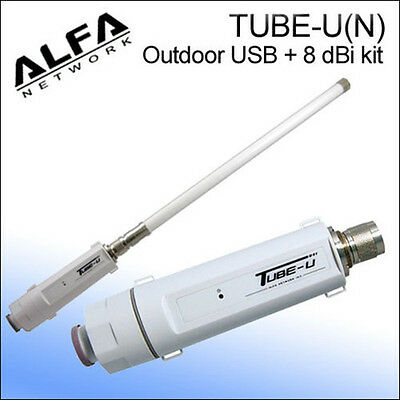 Marine Boating Wi-fi Alfa Tube-u(n) 802.11n Outdoor Usb C...