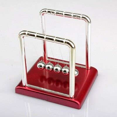 Newtons Cradle Steel Balance Balls Desk Physics Science