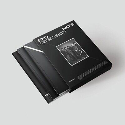 EXO-[Obsession] 6th Album Obsession Ver CD+Poster+PhotoBook+Lyric+Post+Card+Gift