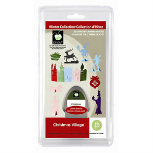 Cricut Christmas Village Seasonal Cartridge - $35