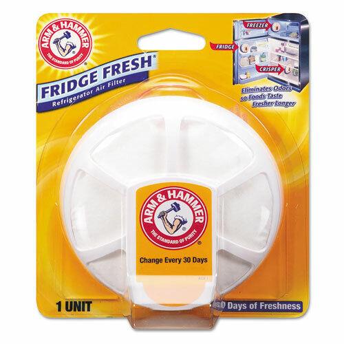 Fridge Fresh Baking Soda, Unscented, 8/Carton