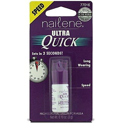Nailene Ultra Quick Nail Glue, 0.10 Oz (Pack of 6) for sale  Shipping to India