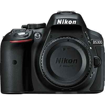 Nikon D5300 24.2 MP Digital SLR Camera - Black (Body only)