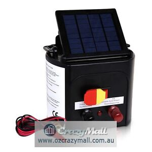 3km Solar Power Animal Electric Fence Charger Melbourne CBD Melbourne City Preview