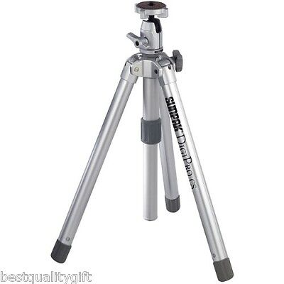 Metal Compact Camcorders - NEW-SUNPAK 620-005S DIGIPRO COMPACT TRIPOD w/METAL 4-WAY PANHEAD 51.4
