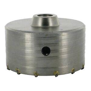 Scie Cloche trepan SDS 125 mm TCT Carbure de tungstene Beton Pierre