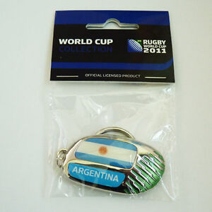 Rugby World Cup RWC 2011 Argentina Country Key Ring