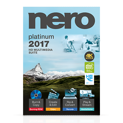 Nero 2017 Platinum 4K ultra | Wundr-Shop