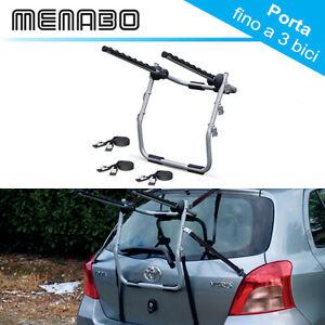 Portabici-Posteriore-Honda-Civic-VII-2001-2005-max-3-bici-acciaio