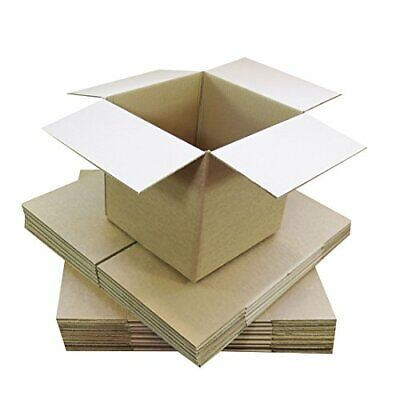 152 X 152 X 152mm Small Single Wall 6x6x6 Shipping Mailing Postal Gift Cube Car