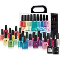 CND Shellac Complete Color Wardrobe Kit: 24 Colors +1Base +1Top